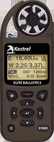 Kestrel 5700X Weather Meter with Applied Ballistics