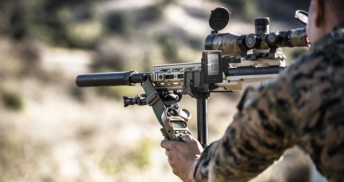 Kestrel Ballistics helps the Military always hit their target