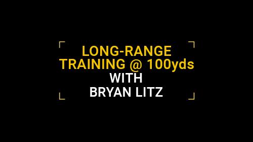 Long-Range training at 100yds