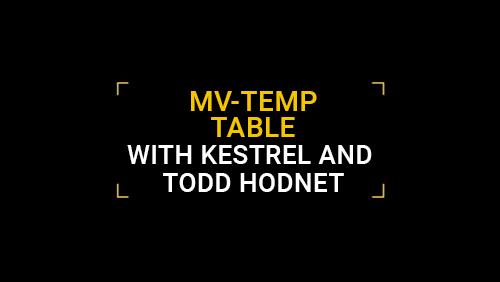 MV-Temp Table with Kestrel and Todd Hodnett
