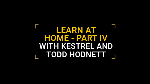 Learn at Home with Kestrel and Todd Hodnett